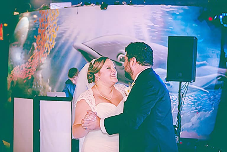 Austin Aquarium a great venue for Weddings