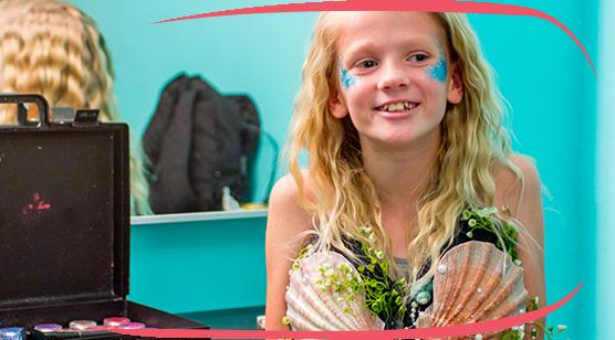 Austin Aquarium Mermaids and Princess Makeovers
