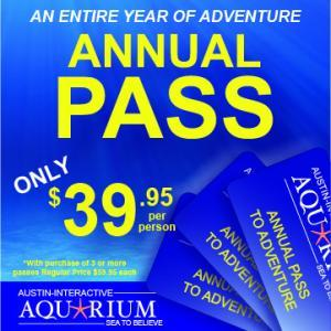Austin Aquarium Annual Pass Free Entry for an Entire Year of Adventure Best Deal Cheap Tickets