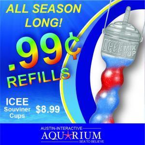 Austin Aquarium Icee Souvenir Coup